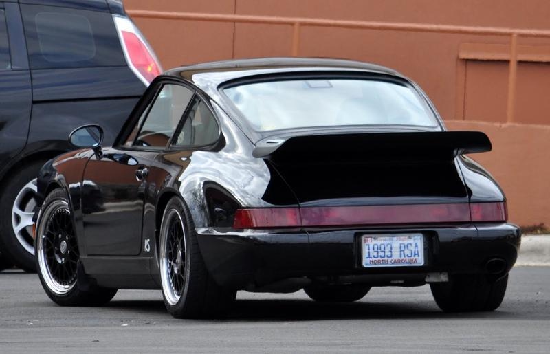 PCA Garage - BLACK 1993 RS AMERICA Porsche