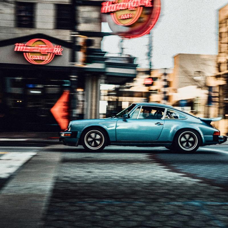 PCA Garage - Light Blue Metl 1979 911SC RS AM SPEC Porsche
