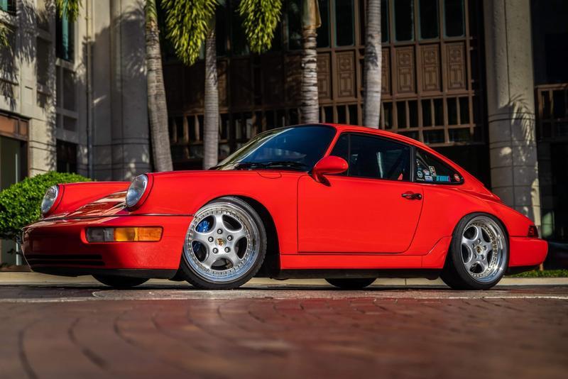 PCA Garage - Guards red 1990 964 Porsche