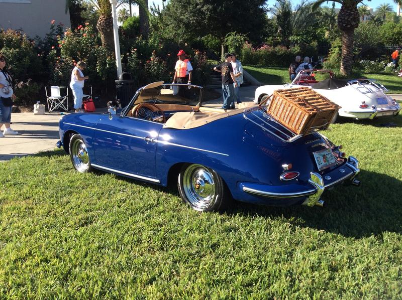 PCA Garage - Bali Blue 1961 Roadster  Porsche