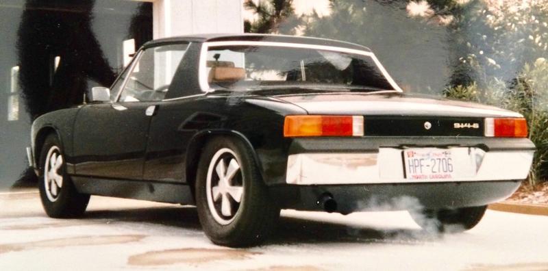 PCA Garage - Black 1970 Porsche 914-6 Porsche