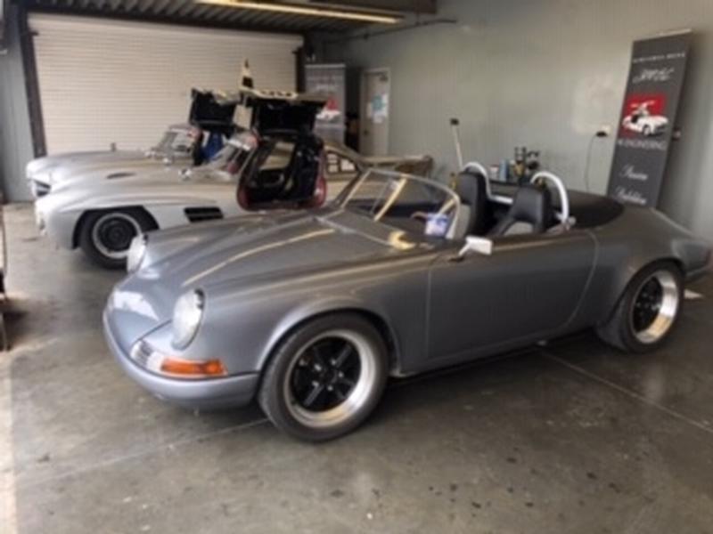 PCA Garage - Silver 1971 911 Speedster Porsche