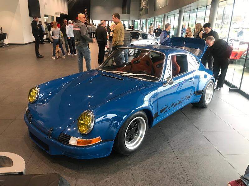 PCA Garage - Gulf Blue 1978 Porsche RSR  Porsche