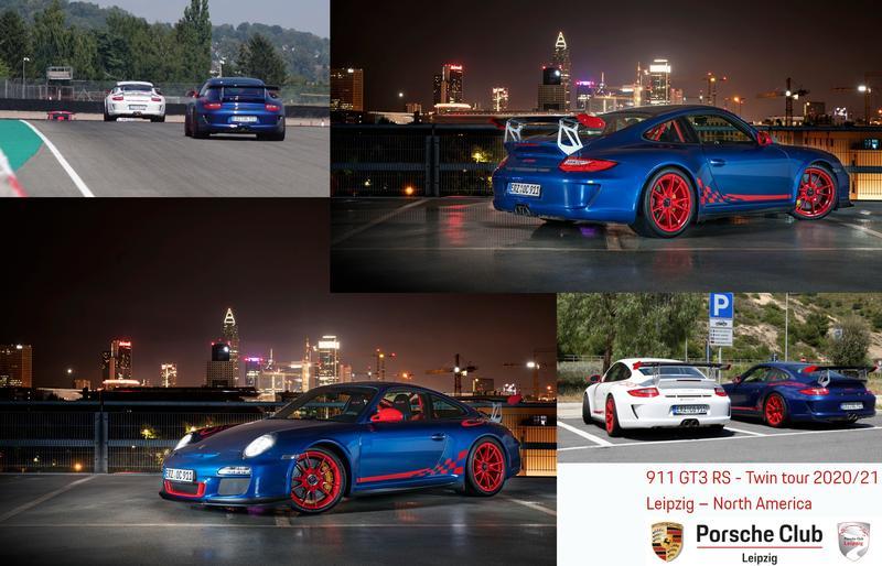 PCA Garage - Aqua blue met 2010 911/997 GT3 RS Porsche