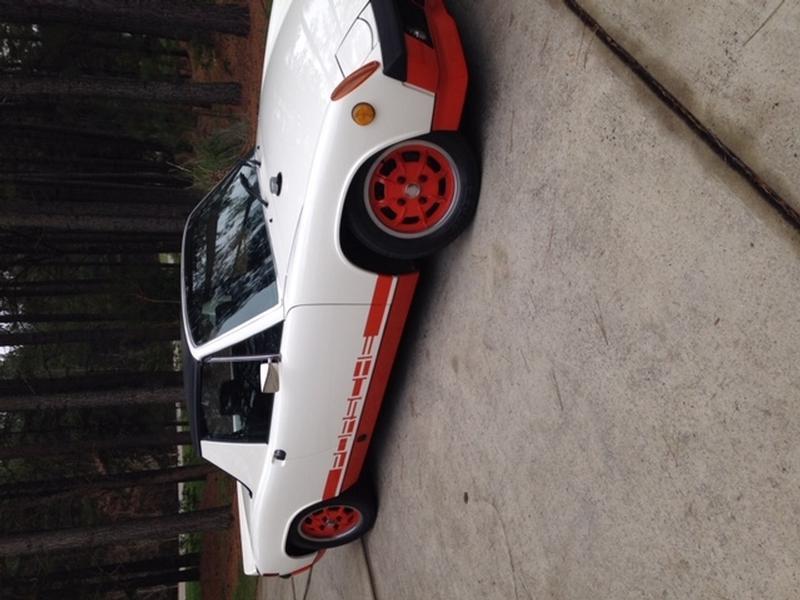 PCA Garage - Creamsicle 1974 914 LE Can-Am Porsche