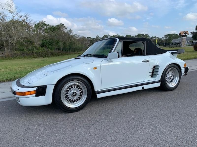 PCA Garage - White 1983 911 Cabriolet Porsche