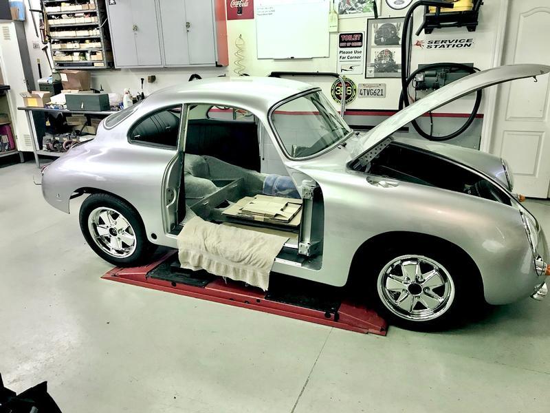 PCA Garage - Silver Metallic 1964 356 Porsche