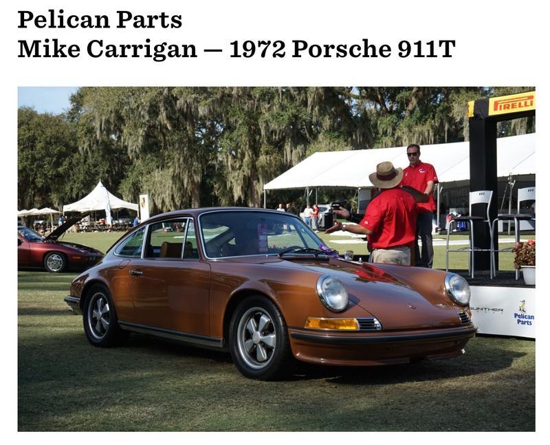 PCA Garage - Sepia 1972 911T Porsche