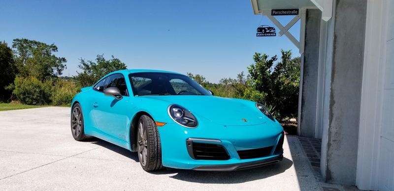 PCA Garage - Miami Blue 2018 911 Carrera GTL Porsche