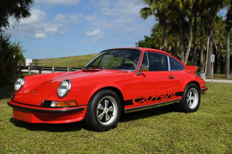 PCA Garage - India Red 1973 Carrera RS Porsche