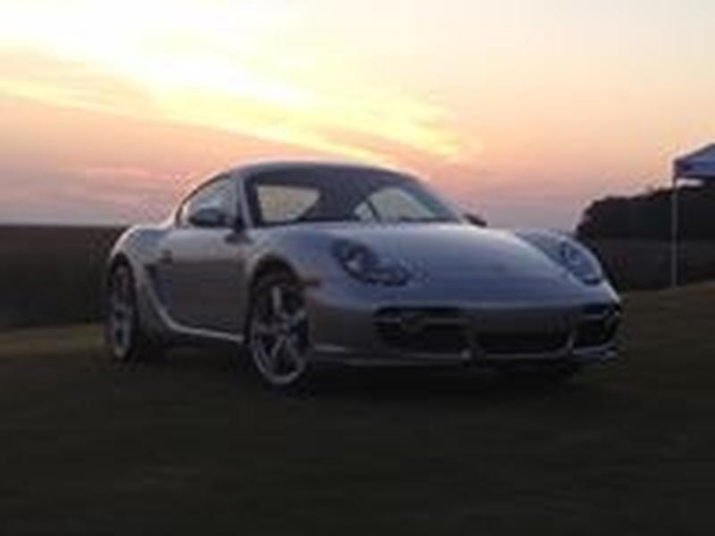 PCA Garage - Arctic Silver 2006 Cayman S Porsche