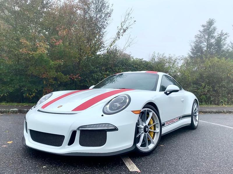 PCA Garage - White 2016 911R Porsche