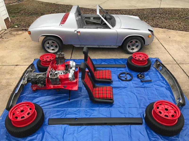PCA Garage - silver metallic 1972 914 Porsche