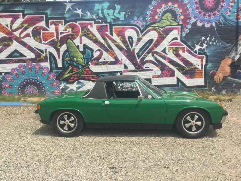 PCA Garage - Zambezi green 1974 Porsche 914 Porsche