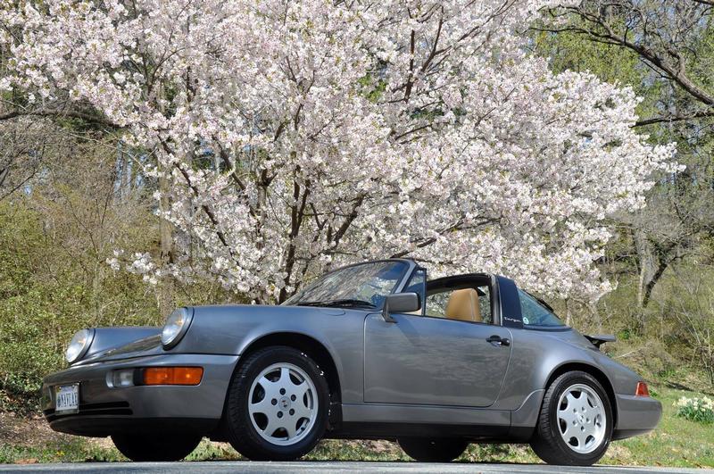 PCA Garage - Stone Grey 1990 Carerra 4 Targa  Porsche