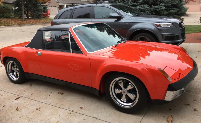 PCA Garage - Tangetine 1970 914-6 Porsche