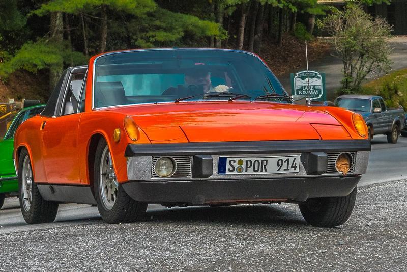 PCA Garage - Phoenix Red 1973 Porsche 914 2.0 Porsche