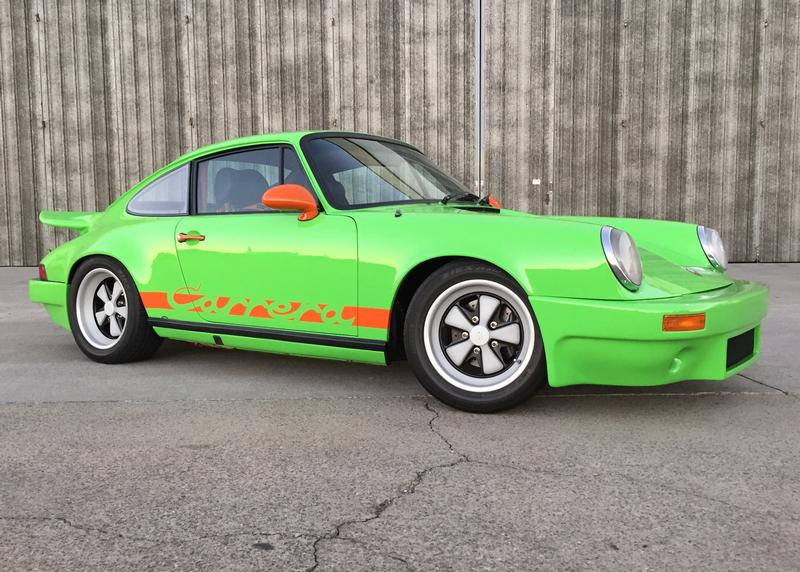 PCA Garage - Gelbgrun 1979 911 (Outlaw) Porsche
