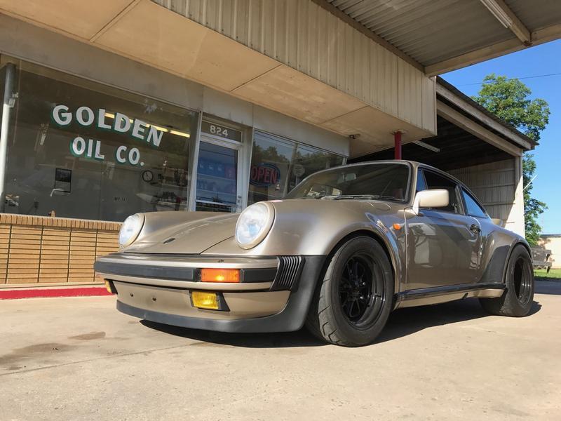 PCA Garage - White Gold 1985 Porsche 911 M491 Porsche