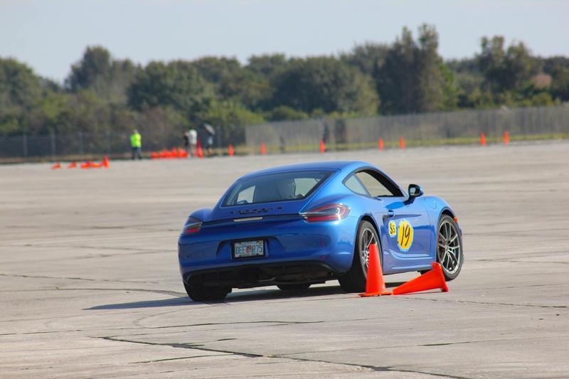 PCA Garage - Sapphire Blue 2015 Cayman GTS Porsche