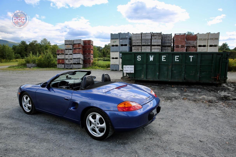 PCA Garage - Zenith Blue Metallic 1999 Boxster Porsche