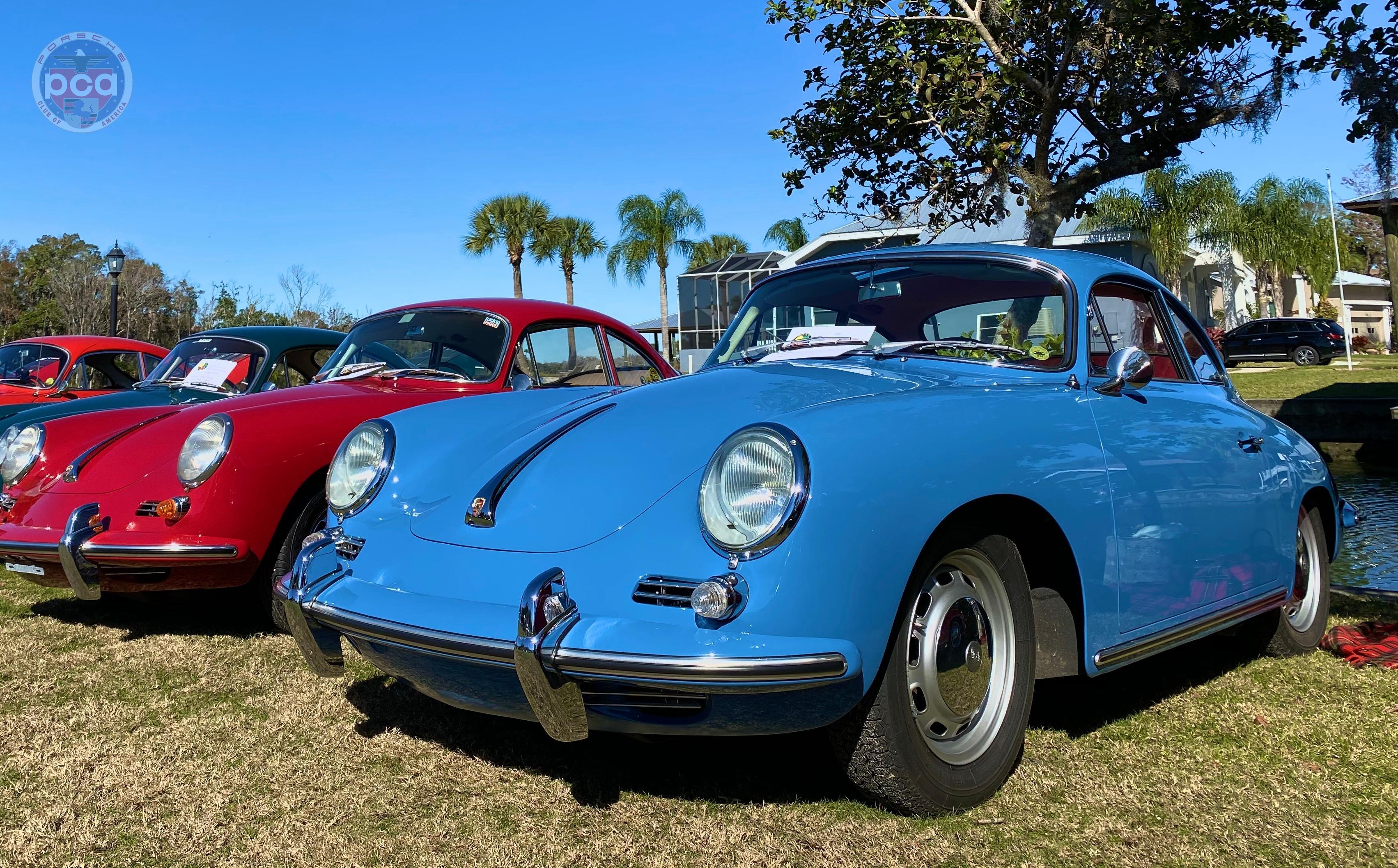 PCA Garage - Sky Blue 1964 356 Porsche