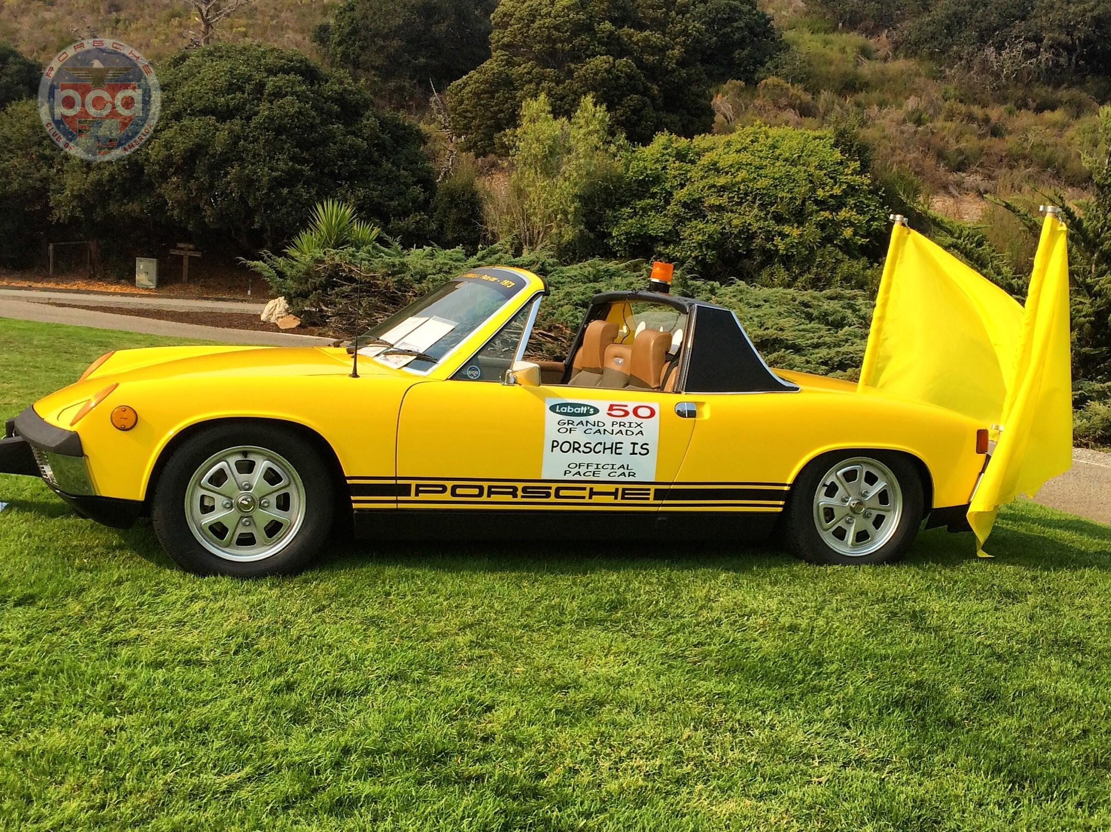 PCA Garage - Sunflower Yellow 1973 914 2.0 Porsche