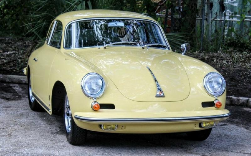 PCA Garage - Champagne Yellow 1963 356 Porsche