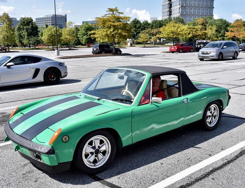 PCA Garage - JackSaxton Green 1974 914 1.8 Porsche