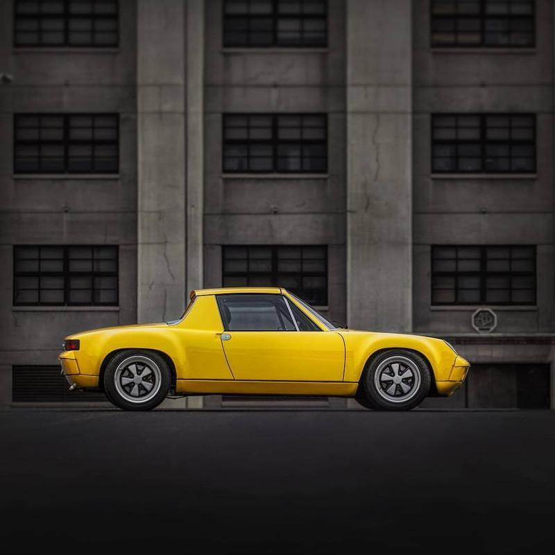 PCA Garage - Sunflower Yellow 1974 914-6 GT Replica Porsche