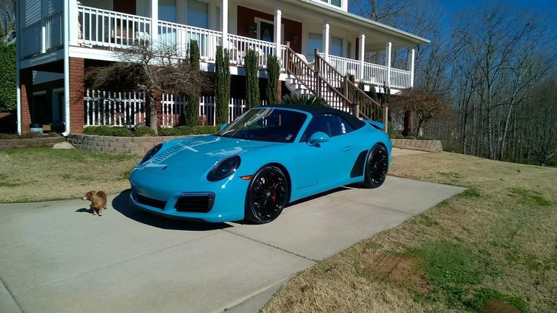 PCA Garage - Miami Blue 2017 911 Carrera S Porsche