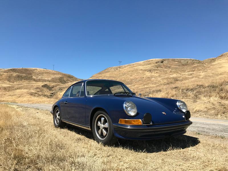 PCA Garage - Albert Blue 1972 911E Porsche