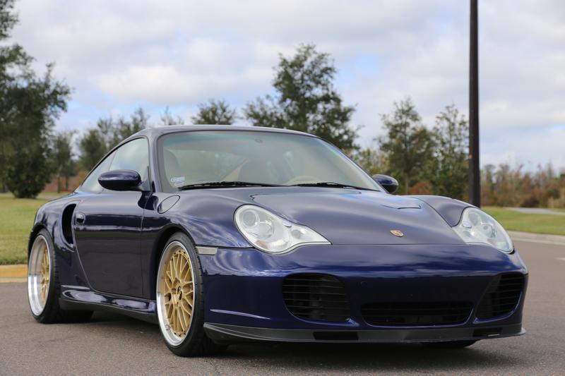 PCA Garage - Lapis Blue 2002 911 Turbo Porsche