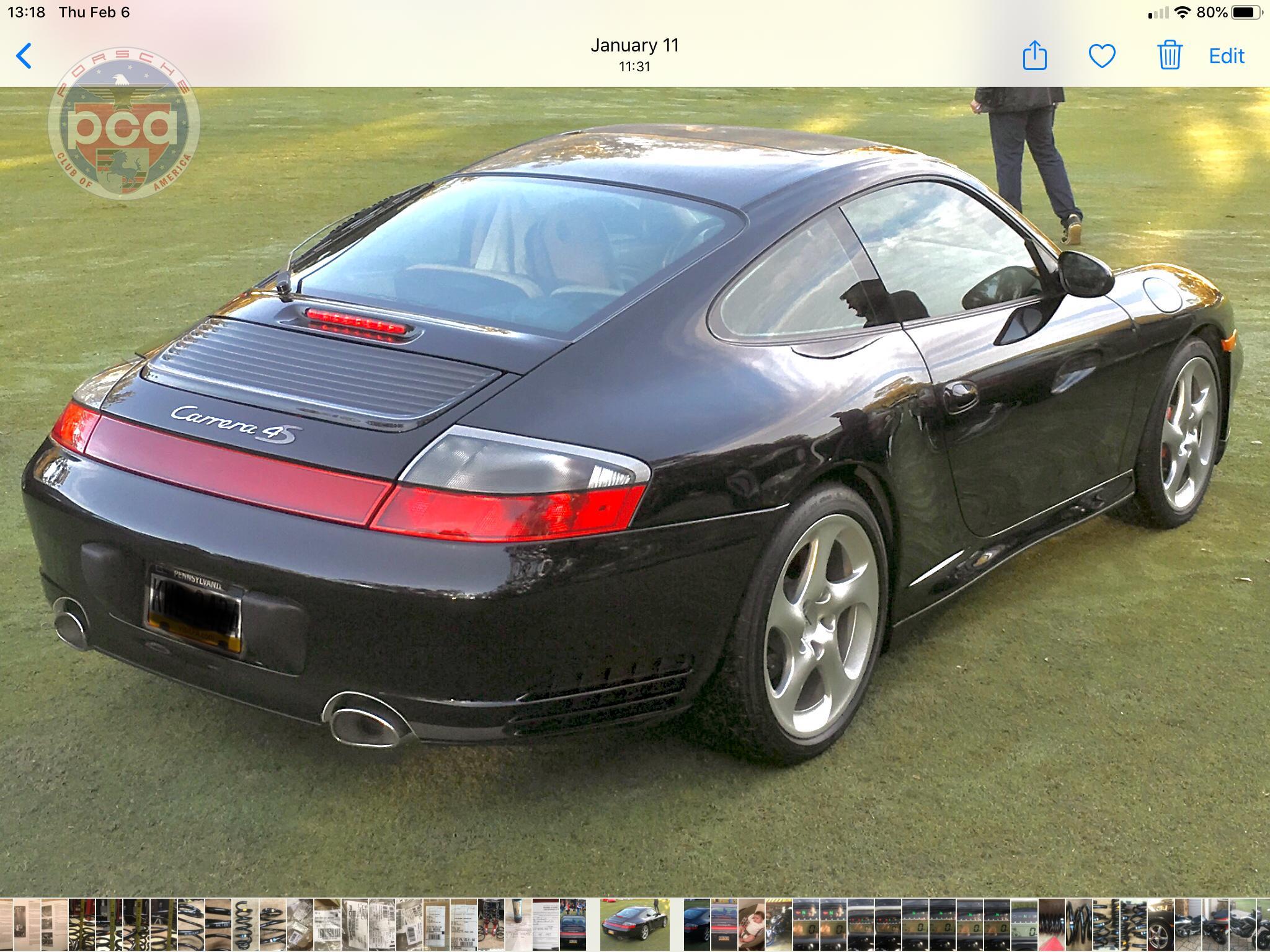 PCA Garage - basalt black 2002 911 Carrera 4S Porsche